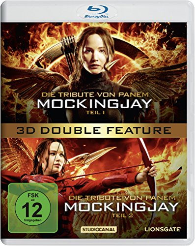 Die Tribute von Panem - Mockingjay Teil 1+2 Double Feature [3D Blu-ray]