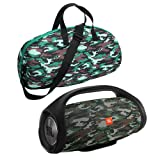 Esimen Camouflage Hard Case for JBL Boombox Portable Bluetooth Speaker Carry Bag Protective Travel Box (Tamaño: for JBL Boombox)