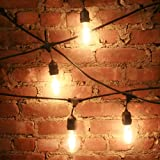 21 Foot Vintage Style String Light - 10 Sockets