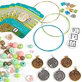 Charmazing Color Me Up! Charm Bracelet Kit - Seaside Collection