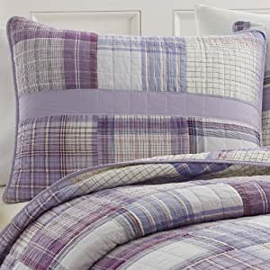 Amazon Com Nautica Hana Quilted Standard Quilt Pillow