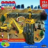 Cra Z Art Superblox Crane Construction Play Set 234 Pc N
