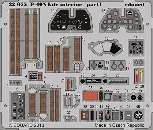 eduard-photoetch-132-p-40n-warhawk-late-interior-sa-hasegawa-edp32675