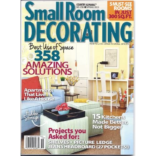 Magazine Country Decorating Ideas: Small Room Decorating Magazine (Country Almanac #158
