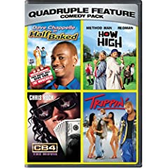Comedy Pack Quadruple Feature by Deezer D,&#32;Method Man,&#32;Redman,&#32;Snoop Dogg and Allen Payne