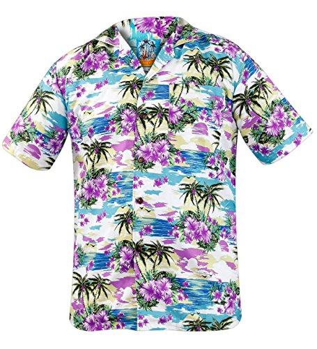 Men's Floral Hawaiian Shirt for Timmy Mallet Costume