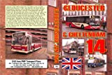 2766. Gloucestershire. UK. Buses. Jan 2014. Features our usual duo of Cheltenham and Gloucester on a wet January Saturday morning , diminished bus centres