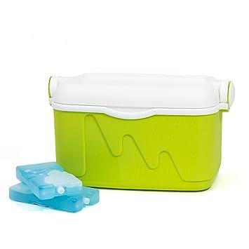 curver k hlbox 10 liter gr n eiskoffer eisbox cooler. Black Bedroom Furniture Sets. Home Design Ideas