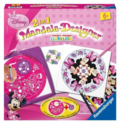 Ravensburger - 29738 - Loisir Créatif - Mandala Designer 2 en 1 - Minnie 2 en 1