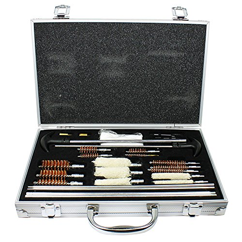 Gun Cleaning Kit 103 PC Universal Pro for Pistol Rifle Shotgun /w Carrying Case - 103pc (Mini Split Bib Kit compare prices)