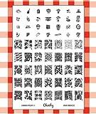 Cheeky Plaque Jumbo Nail Art 1 de 42 Designs