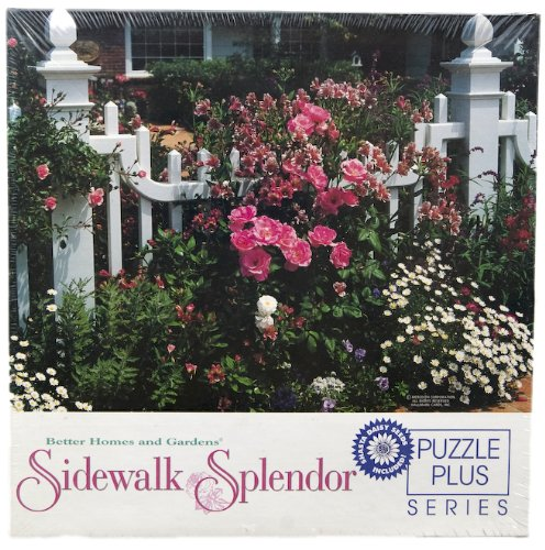 Better Homes & Gardens Sidewalk Spleandor Puzzle Puzzle Plus Series (Shasta Daisy Seeds Included)