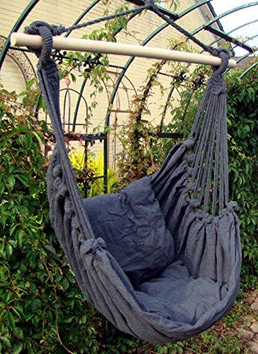 Hngesessel-Lucky-Sitzschaukel-Gartensessel-zum-Aufhngen-anthrazit