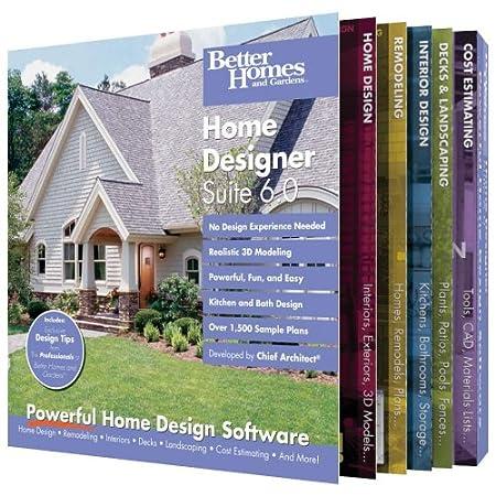 Better Homes and Gardens Home Designer Suite 6.0 [OLD VERSION]