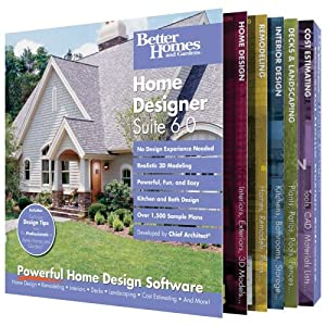 Better Homes and Gardens Home Designer Suite 6 Amazonco