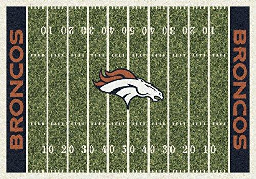 Denver Broncos NFL Area Rug (10'9