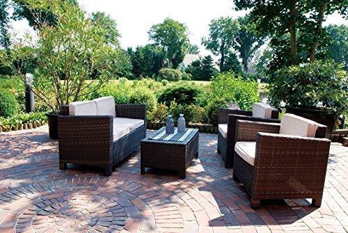 Gartenmöbel Sitzgruppe Gartenlounge Loungeset Rattanmöbel Möbel Loungegruppe online kaufen