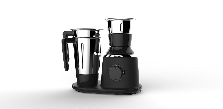 Butterfly Kitchen Appliances Buy Butterfly Spectra 750 Watt Mixer Grinder With 3 Jars Black