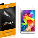 [3-Pack] Supershieldz High Definition Clear Screen Protector for Samsung Galaxy Tab 4 8.0 inch + Lifetime Replacement (Color: HD Clear)