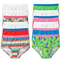 Fruit of the Loom Girls' 12 Pack Wardrobe Brief