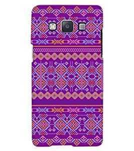 ColourCraft Tribal Pattern Design Back Case Cover for SAMSUNG GALAXY A8