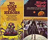 Alice's World / No Time for Heroes (Ace Double, 58880) (0441588808) by Sam J. Lundwall