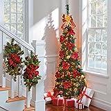 Corner Pull-Up Christmas Tree - Versailles