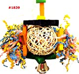 Bonka Bird Toys 1839 Foraging Star Bird Toy parrot cage toys cages shredder cockatiel conure african grey