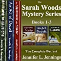 Sarah Woods Mystery Series: Books 1-3 (       UNABRIDGED) by Jennifer L. Jennings Narrated by Erin Coleman