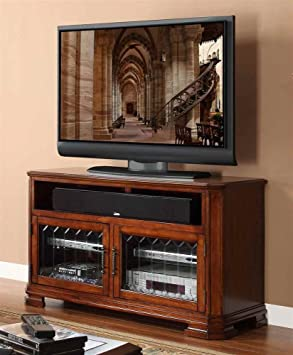 48 in. TV Cabinet in Toffee Finish