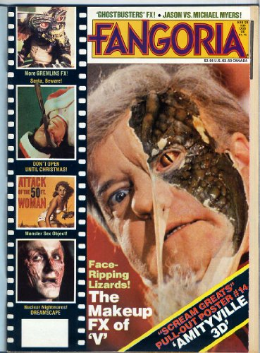Fangoria Magazine 39 The FX & MAKEUP OF V THE INVADERS With Rare Wrap Around Newsletter Still Attached AMITYVILLE Dreamscape GREMLINS November 1984 (Fangoria Magazine) PDF
