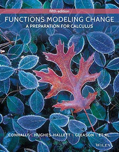 Functions Modeling Change 5e + WileyPLUS Registration Card (Functions Modeling Change compare prices)