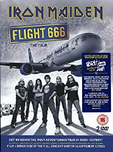 Amazon.fr Iron Maiden Flight 666 The Film [(DVD + libro