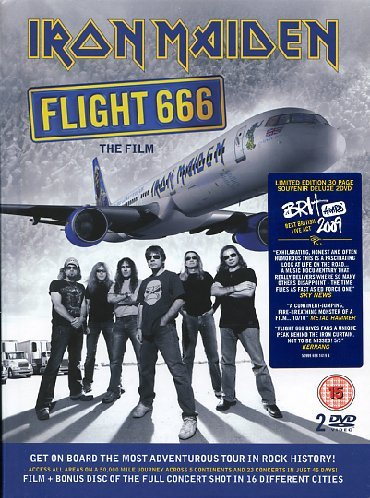 Iron Maiden - Flight 666 (Limited) (2 Dvd+Libro)