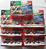 Micro Machines Carabinieri (Police) set of 7 packs - Made by Hasbro in 2006 (Packets are not in English)
