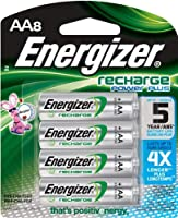 aa batteries rechargeable 8 rank 2