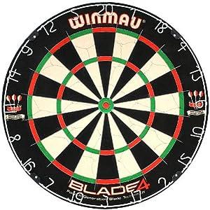 Winmau Steeldartboard Blade IV, beige/schwarz, 3006