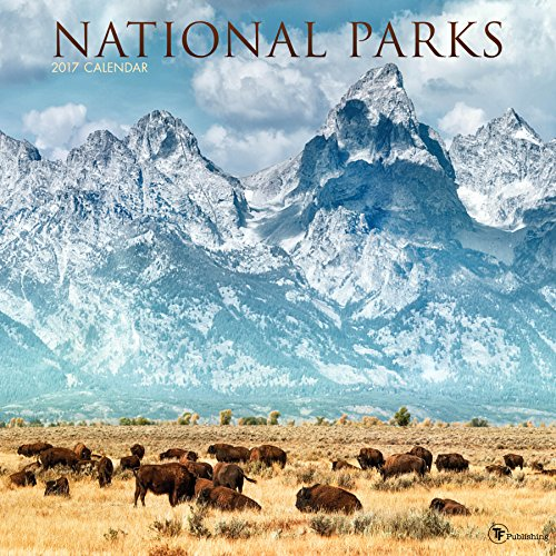 2017 National Parks Wall Calendar