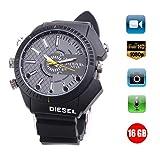 HD Watch Camera IR Night Vision Hidden Watch The Camera 1080P Watch Cameras Multifunctional Smart Watch 16GB