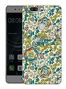 "Flower IllusionPrinted Designer Mobile Back Cover For ""Huawei Honor V8"" (3D, Matte, Premium Quality Snap On Case)"