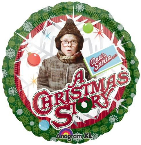 "18"" A Christmas Story Anagram Balloons - 1"