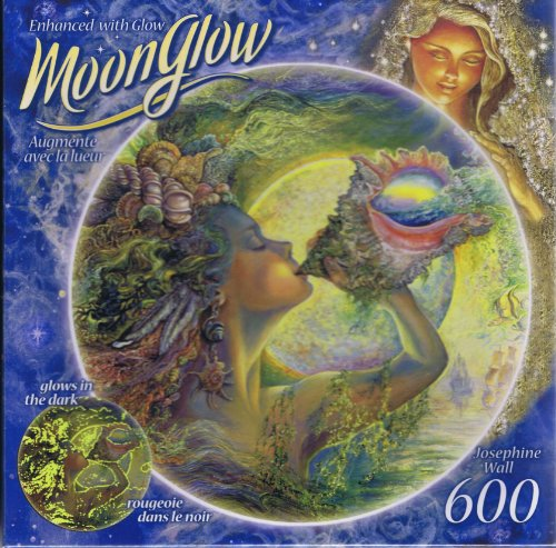 Moon Glow Round Puzzle Josephine Wall, Call of the Sea