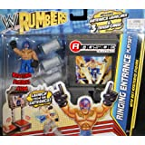 WRESTLING REY MYSTERIO W/ RINGING ENTRANCE PLAYSET WWE RUMBLERS WWE Toy Wrestling Action Figure