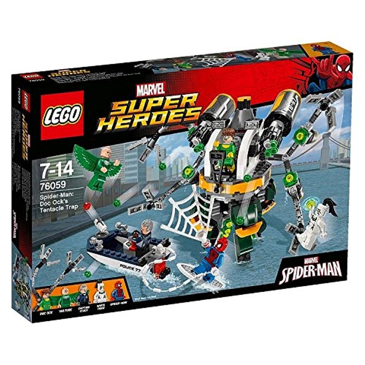 [해외] 레고 (LEGO) 슈퍼히어로즈 스파이더맨:Dock옷쿠의 촉수의 올가미 76059-76059 (2016-06-03)