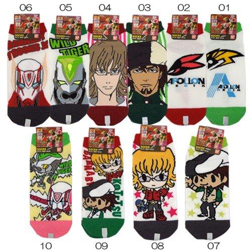 タイガー&バニー/TIGER&BUNNY レディースソックスアニメキャラグッズ(女性用靴下)通販【10】