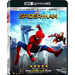 Spider-Man: Homecoming [4K Ultra HD + Blu-ray]