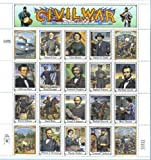Civil War Collectible Stamp Sheet
