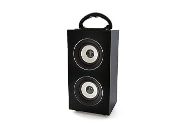Mobility Lab ML306735 Enceinte nomade Bluetooth Music Blastr Radio, USB, Slot SD Noir