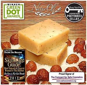 Amazon.com : NaturOli Soap Nut / Soap Berry Soap Bars ...
