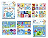 Baby Bath Books Plastic Coated Fun Educational Learning Toys for Toddlers Kids Splash Sea